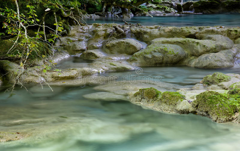 Mysterious river royalty free stock images