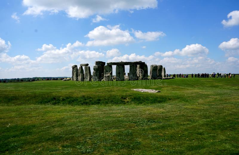 Mysterious Stonehenge in England royalty free stock photos