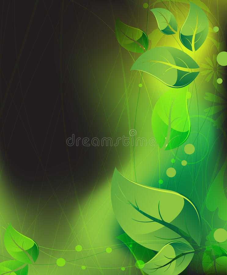 Download Mysterious vegetation stock vector. Image of inspiration - 25692888