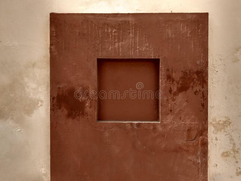 Mysterious wall design royalty free stock images
