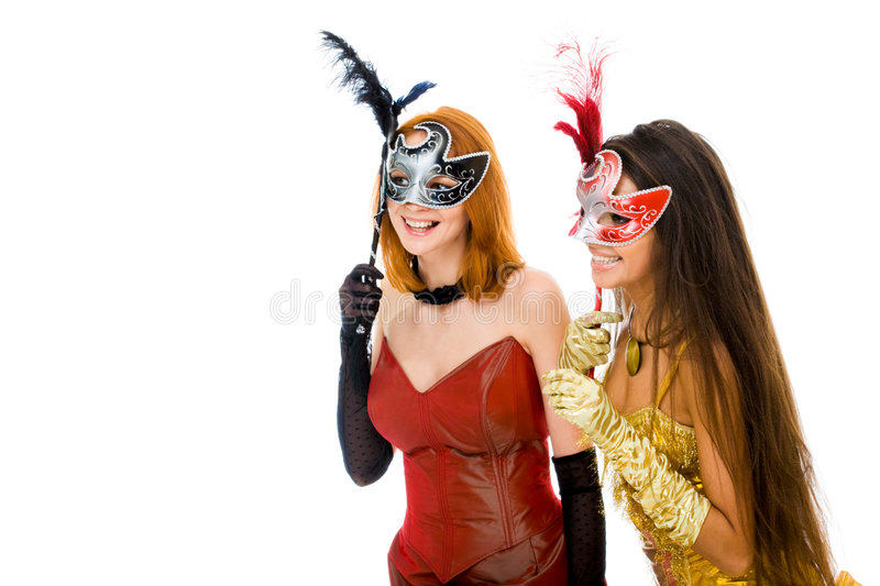 Download Mysterious women stock image. Image of dressed, glad, glamour - 8091059