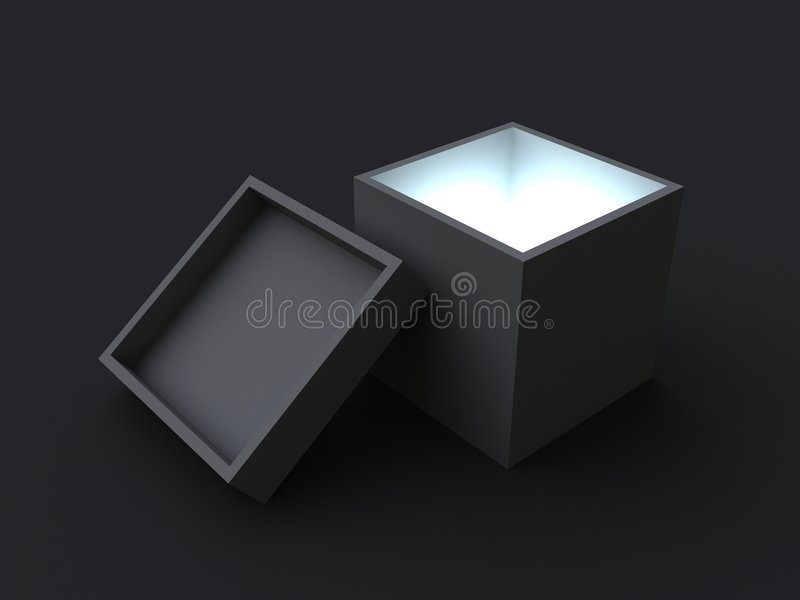 Download Mystery box stock image. Image of white, gift, light, present - 1516445
