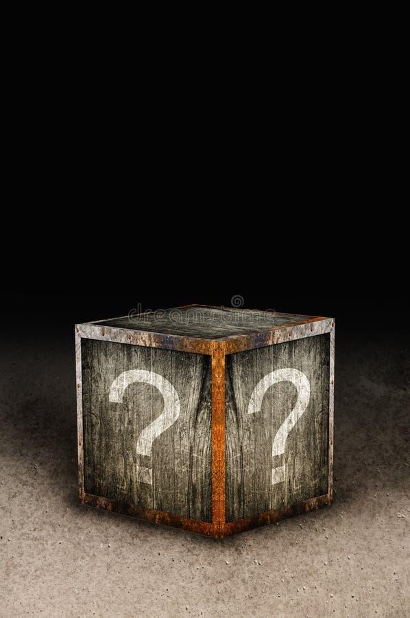 Free Mystery Box Royalty Free Stock Photography - 32896177