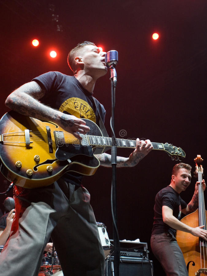 Download Mystery Gang Hungarian Rockroll Band Concert Editorial Stock Image - Image: 12212029