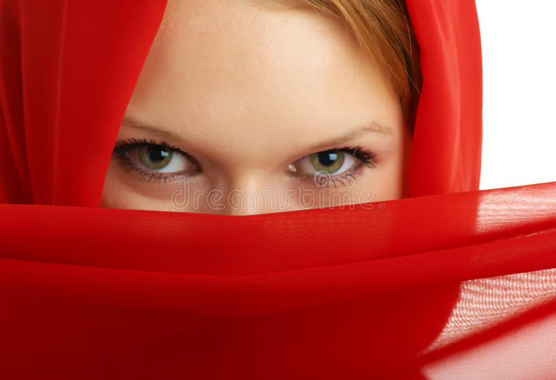 Download Mystery girl stock image. Image of arabic, woman, east - 10851545