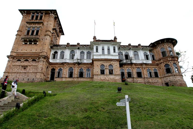 Kellie`s Castle at Batu Gajah, Perak, Malaysia. The mystery of Kellie`s Castle, Batu Gajah, Perak, Malaysia. The unfinished mansion was built by a Scottish stock photography