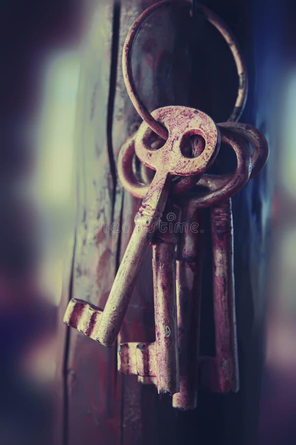 Mystery keys stock images