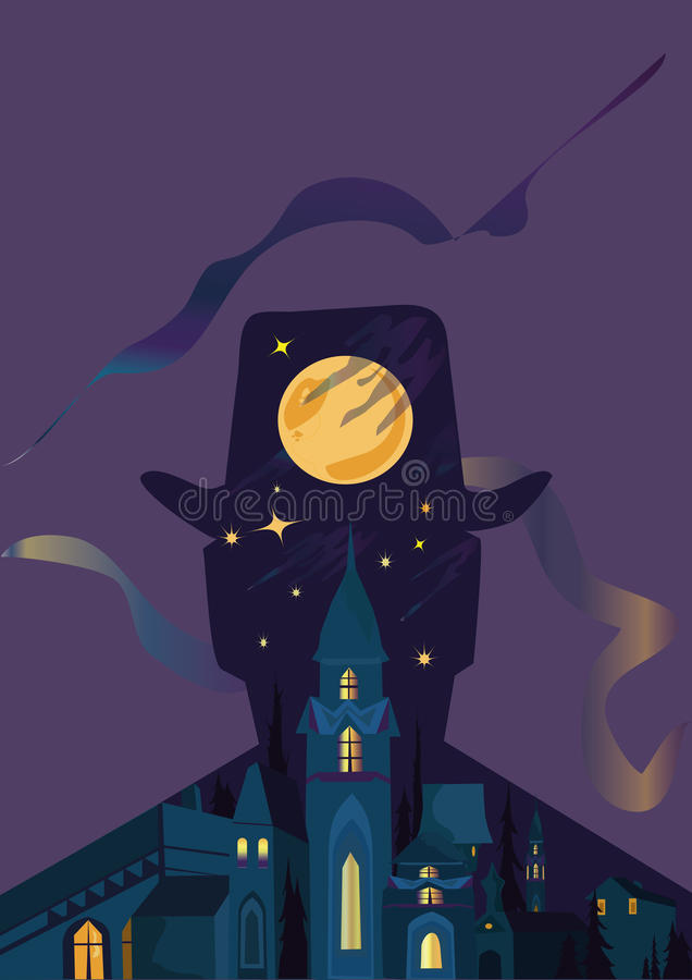 Mystery Man stock illustration