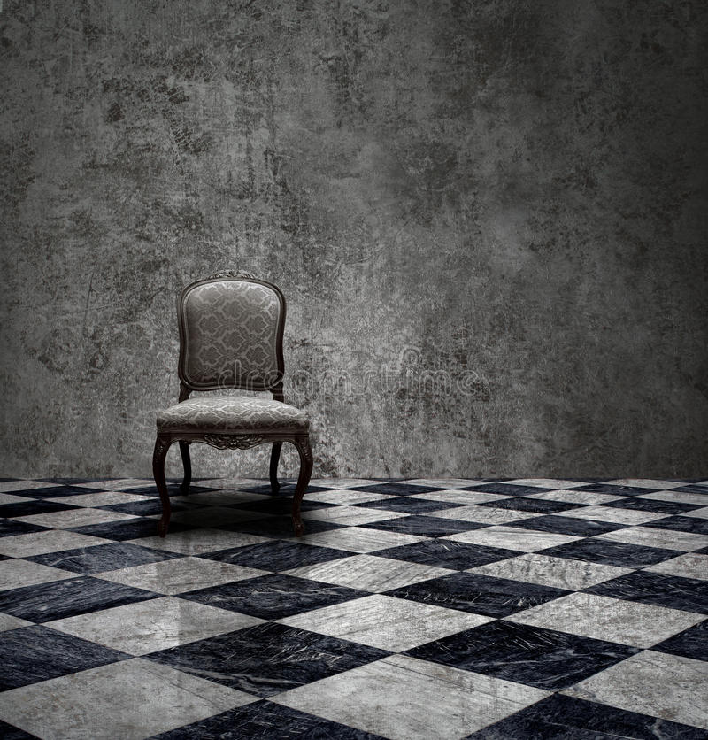 Free Mystery Silver Room Stock Image - 19047951
