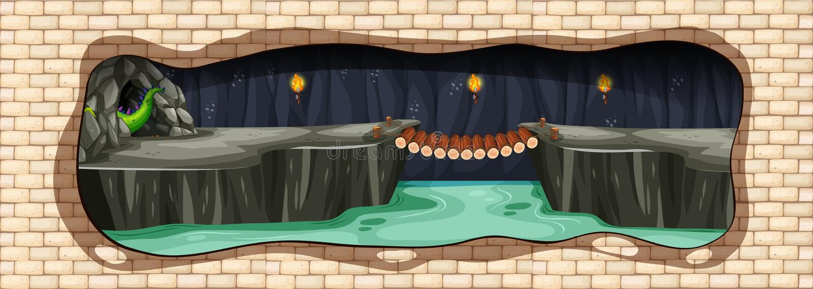Dragon Cave Stock Illustrations – 274 Dragon Cave Stock