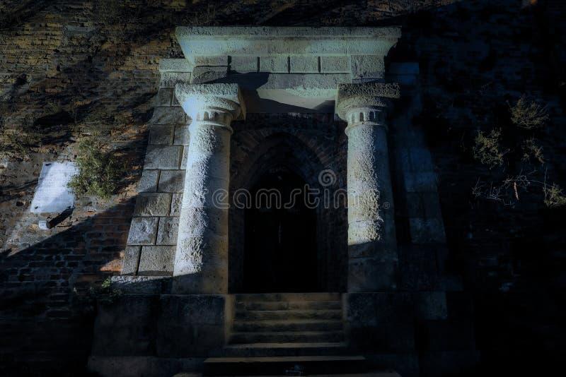 Mysthian wejście Schlossberg w Graz obrazy royalty free
