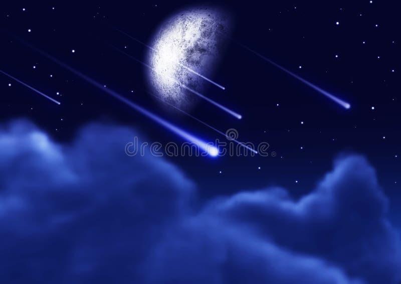 Mystiacal Nacht vektor abbildung