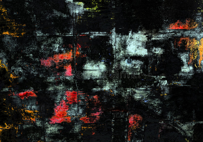 Mystic abstract. Abstract painting texture vector illustration