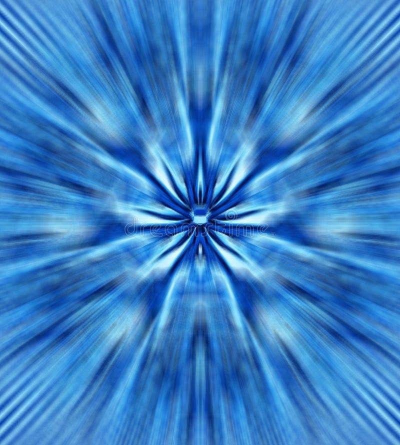 Mystic blue flower royalty free stock photos