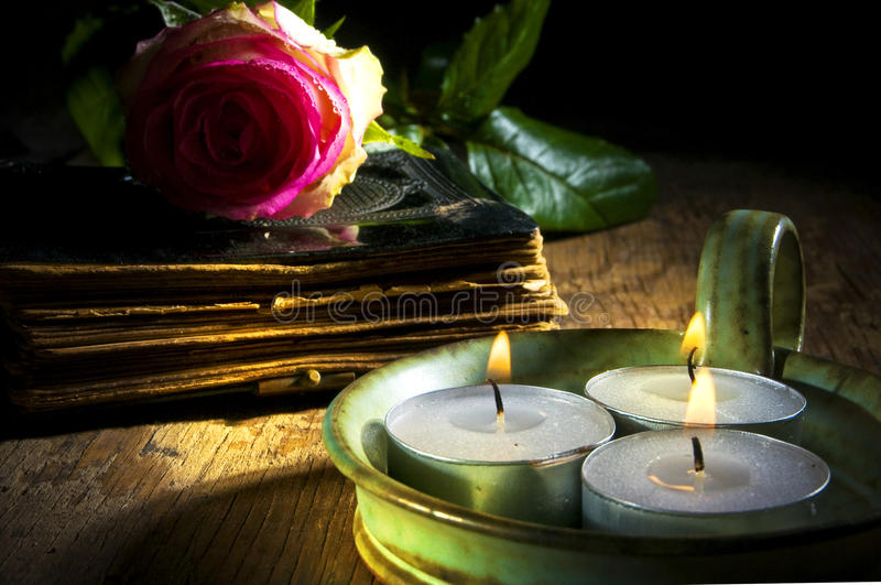 Download Mystic book stock image. Image of ritual, religious, candles - 13721933