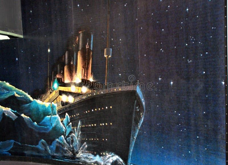 Mystic connecticut usa seaport nautical museum stock images
