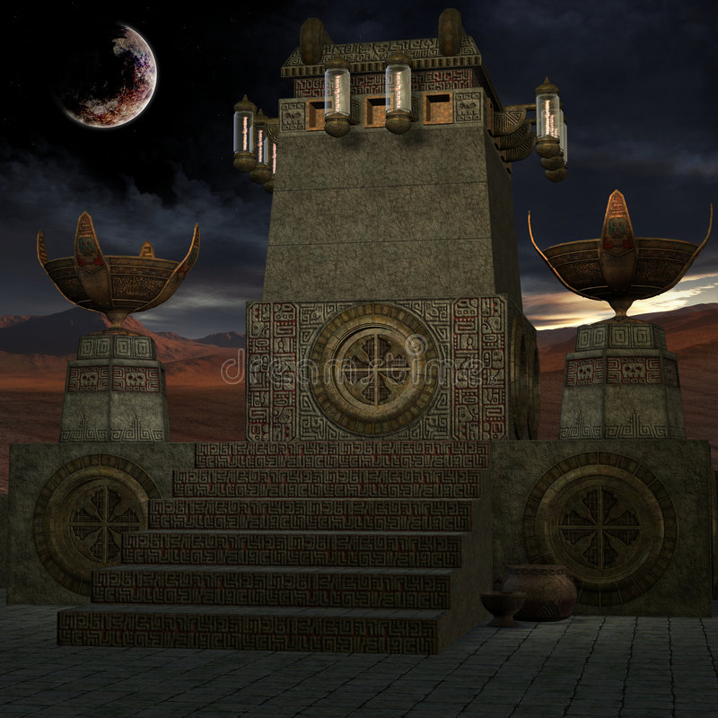 Download Mystic Place stock illustration. Image of tomb, ancient - 6138457