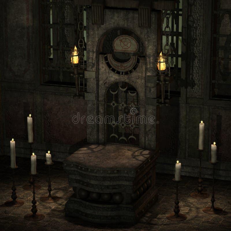 Download Mystic Place stock illustration. Image of fantasy, render - 7254987