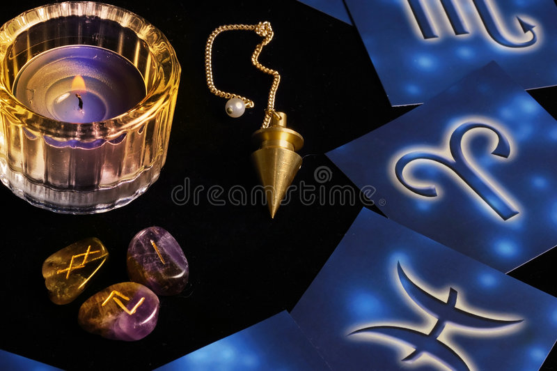Mystical atmosphere stock images