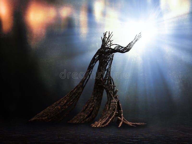 Mystical creature stock illustration