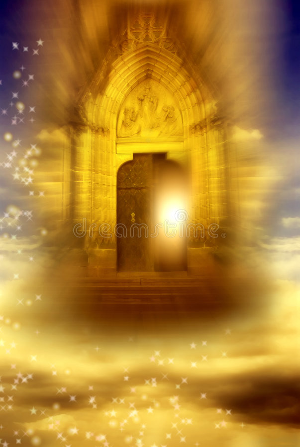 Download Mystical gate stock image. Image of christianity, divine - 8258603
