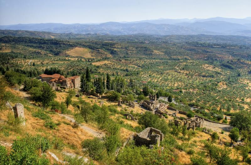 Download Mystical Mystras stock photo. Image of eastern, byzantine - 26332010