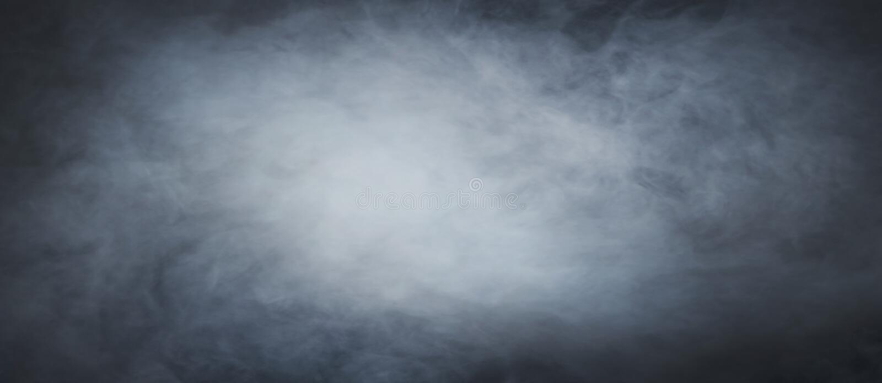 Mystical smoke background stock image