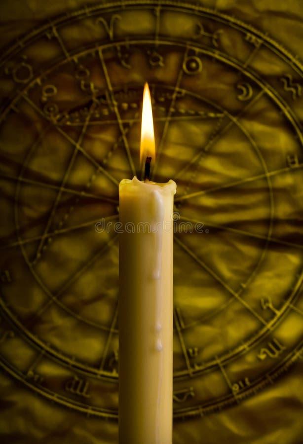 Mystieke astrologie stock fotografie