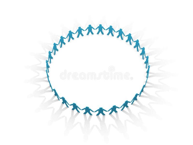 Mystieke cirkel. vector illustratie