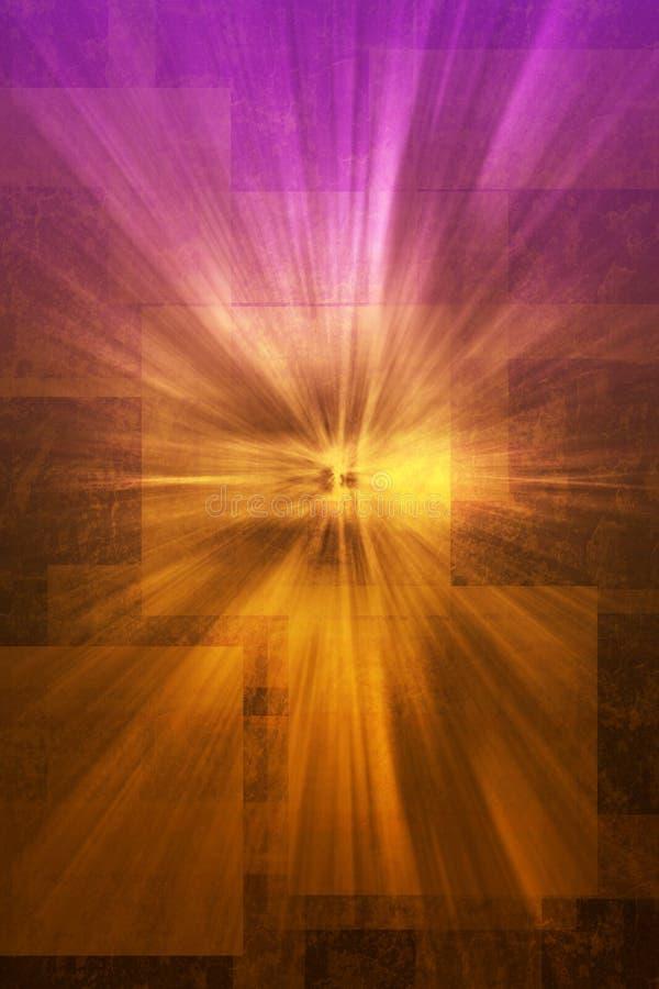 Mystieke revelatie violette textuur vector illustratie