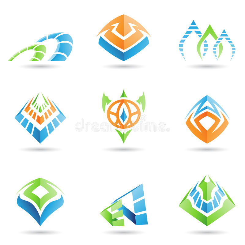 Mystische Symbole vektor abbildung