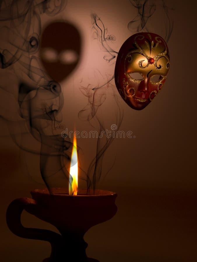 mystisk maskering royaltyfria foton