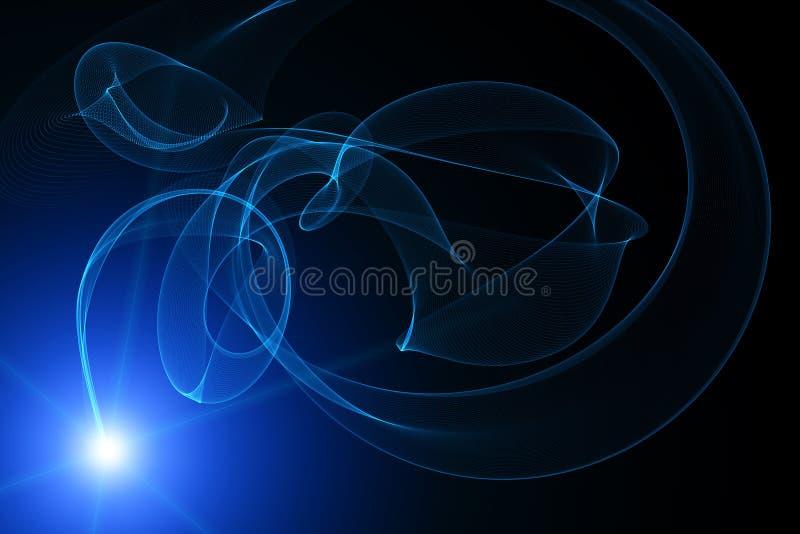 Download Mystiskt ljus stock illustrationer. Illustration av planet - 37348431