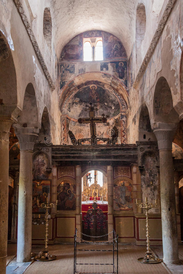 Mystras metropolii katedra zdjęcia royalty free