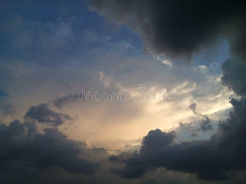 mystry的天空 免版税图库摄影