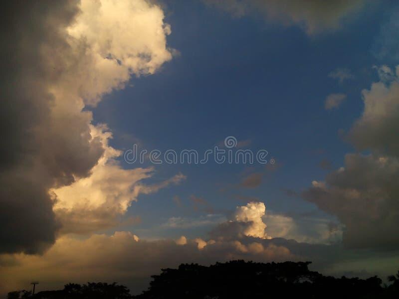 mystry的天空 库存照片