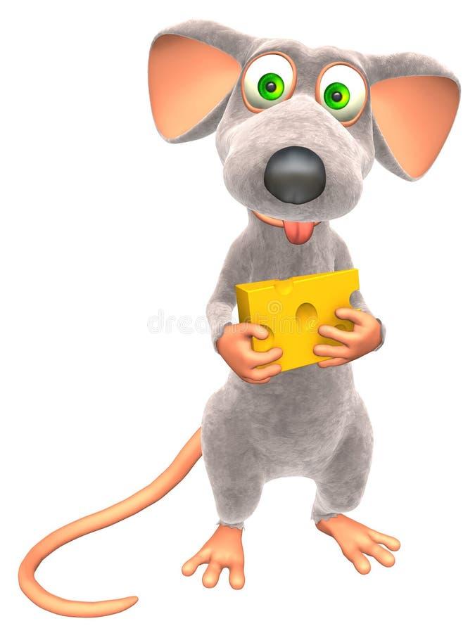 mysz royalty ilustracja