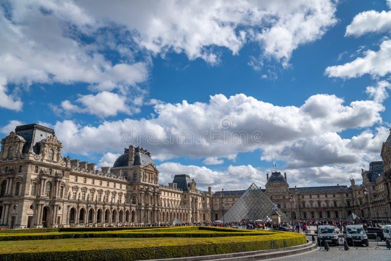 Mysz De Louvre Paryż zdjęcie royalty free