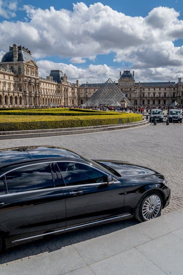 Mysz De Louvre Paryż fotografia stock
