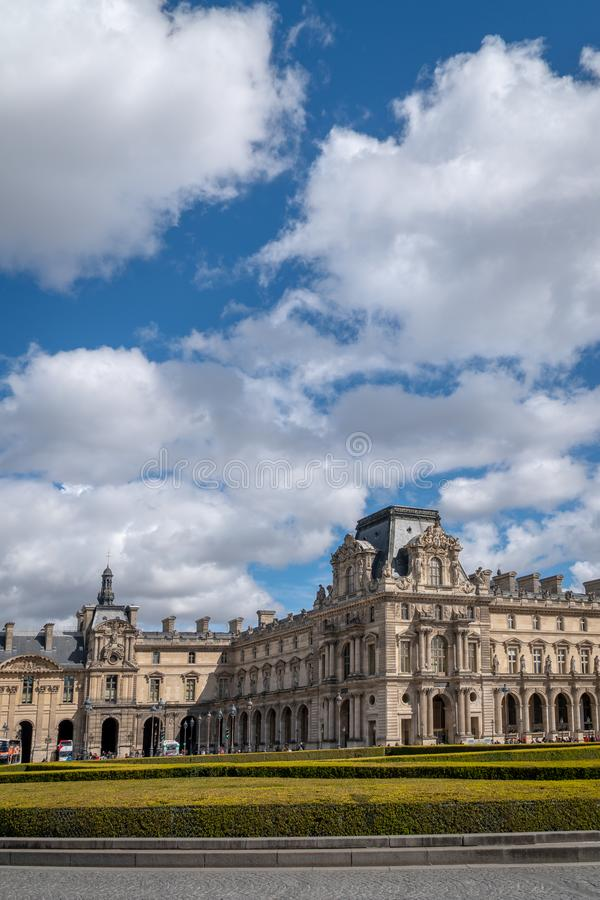 Mysz De Louvre Paryż zdjęcia stock
