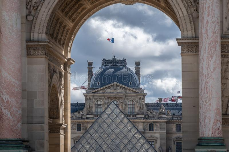 Mysz De Louvre Paryż obrazy stock