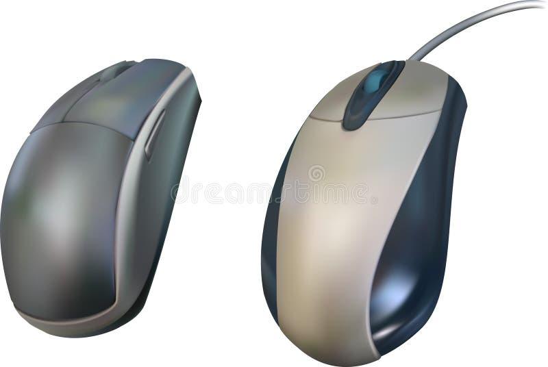 mysz komputerowa royalty ilustracja