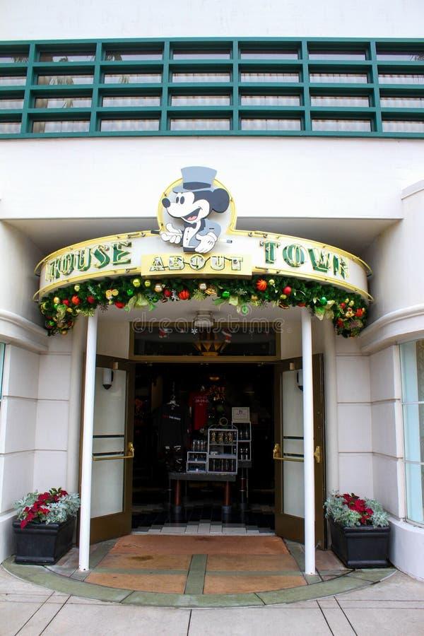 Mysz O miasteczku, Hollywood studia, Orlando, FL zdjęcie stock
