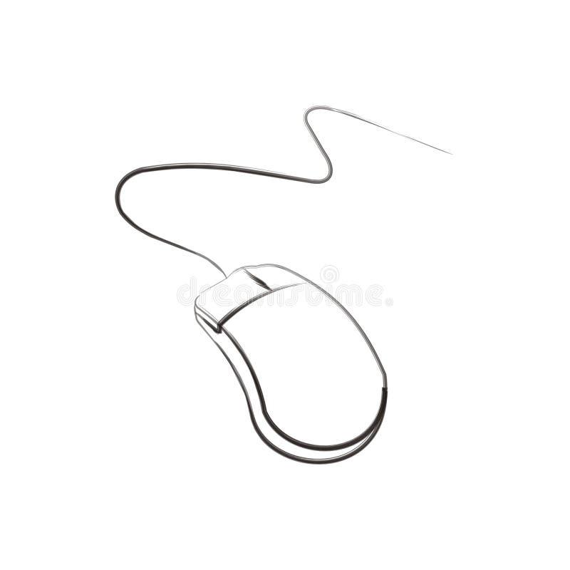 mysz szczotkarski sztuki bang ilustracji