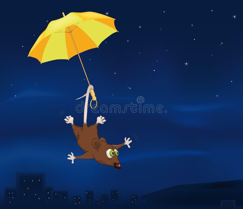myszy czarodziejska bajka ilustracji