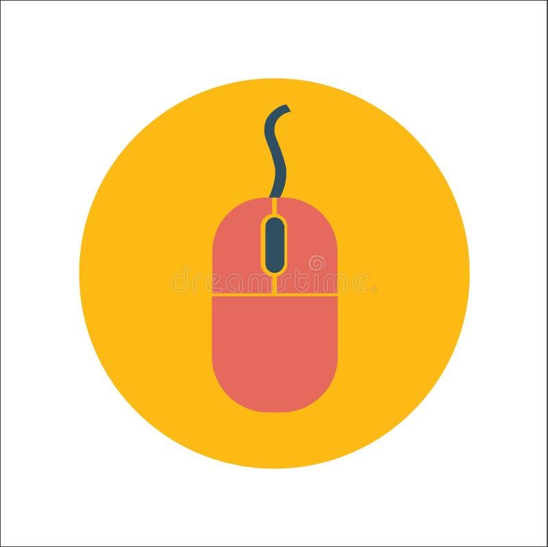 Myszy ikony płaski wektor royalty ilustracja