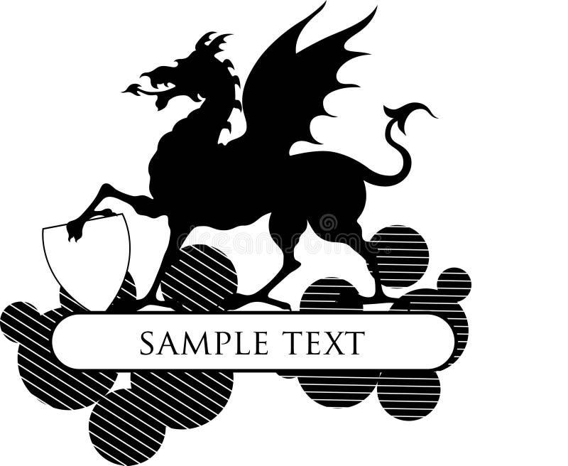 Download Myth design frame stock illustration. Image of silhouette - 6318601