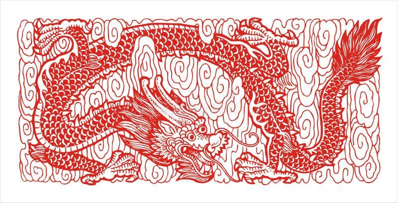 Download Myth dragon stock illustration. Illustration of severe - 5650563