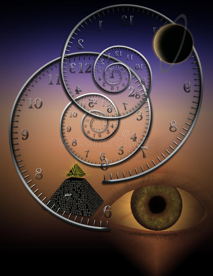 Download The Myth of Time stock illustration. Image of abstract - 31280315