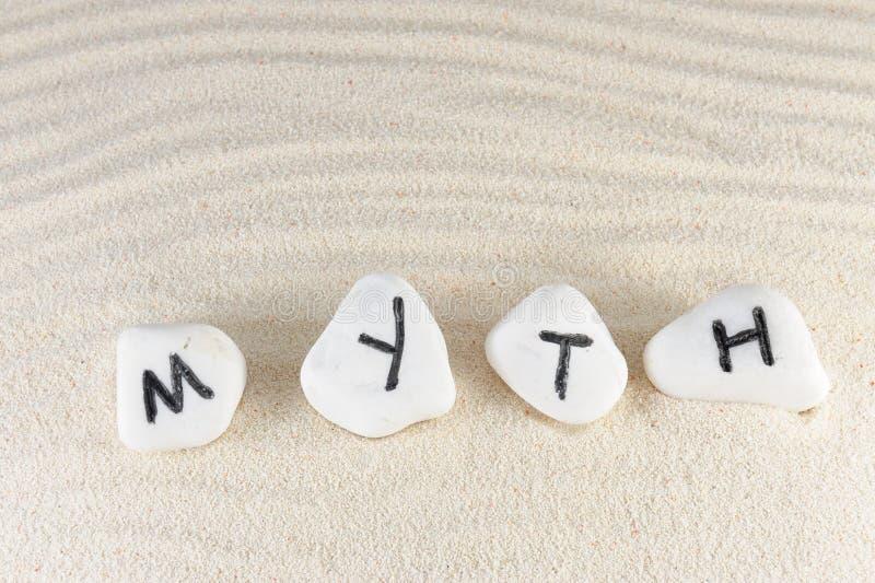 Download Myth word stock image. Image of myth, background, dune - 32251347